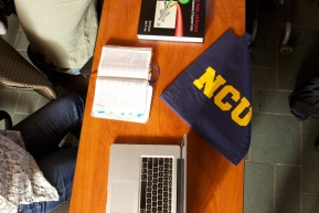 NCU Bag on Desk