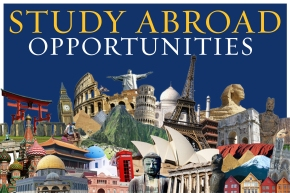Study Abroad Sign